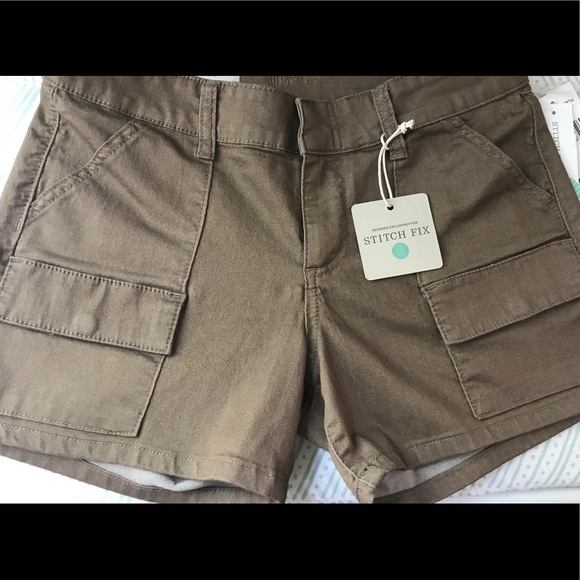 7d42eceb73 Kut from the Kloth Shorts | Sale Cargo 6 Brown Bnwt | Poshmark